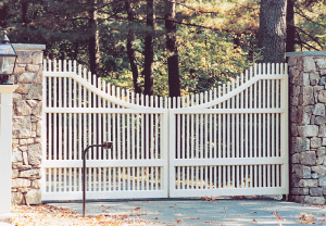 Mt. Vernon Baluster Automated Gate AC-10