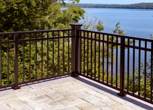 Seamless Top Rail Railing AM-11