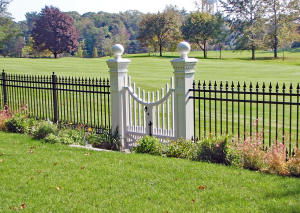 Estate GA Ornamental Picket Fence F-O-6