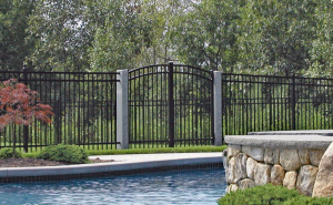 Imperial BA Ornamental Fence F-O-23