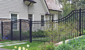 Imperial BA Ornamental Fence F-O-24