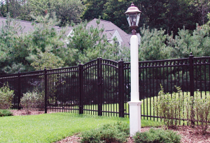 Imperial DAM Ornamental Picket Fence F-O-35