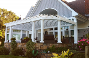 Attached Pergola P-A-6