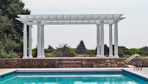 Eight Column Pergola P-F-3