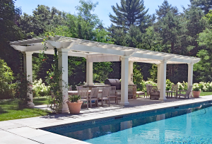 UltraShade Eight Column Pergola P-F-7