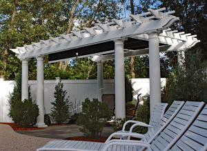 Eight Column Pergola P-F-5