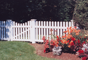 Dog Ear Picket Fence F-FVP-7