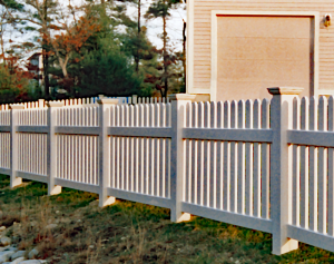 Dog Ear Picket Fence F-FVP-8