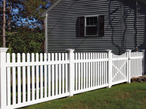 Dog Ear Picket Fence F-FVP-9