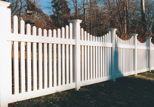 Dog Ear Picket Fence F-FVP-10