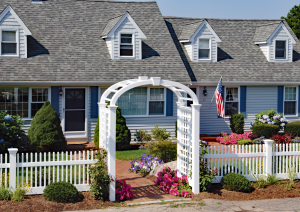 Mt Vernon Picket Fence F-FVP-30