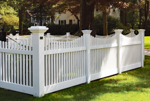 Mt Vernon Scalloped Picket Fence F-FVP-34