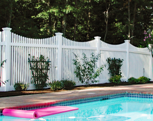 Mt Vernon Scalloped Picket Fence F-FVP-36