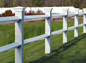 Estate Post and Rail Fence F-FVR-3