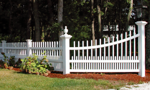 Williamsburg Picket Fence F-FVP-44