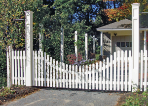 Nantucket Picket Fence F-WP-21