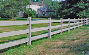 Kentucky Post and Rail Fence F-WR-5
