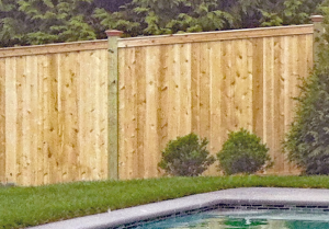 Ultra Privacy Traditional Fencing F-WV-15